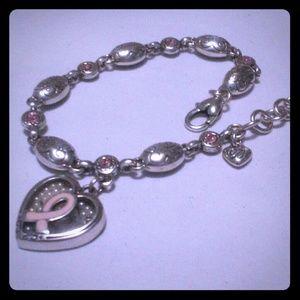 Brighton Breast Cancer Bracelet-NWOT